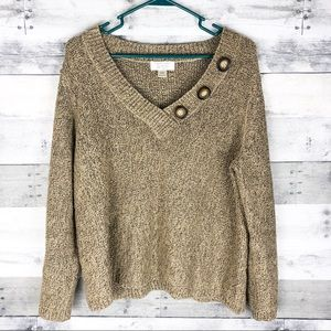 Christopher & Banks / knit sweater/ XL petite